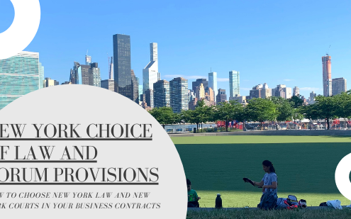 new york choice of law and forum provisions