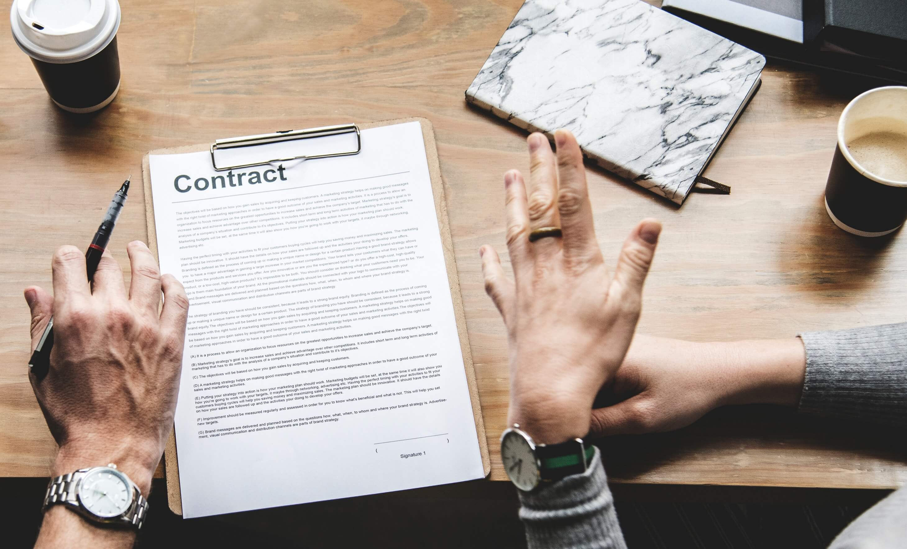 Legal Mistakes to Avoid in Business Agreements