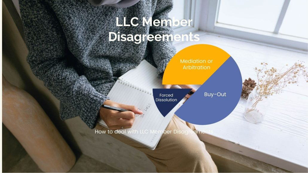How to deal with LLC Member Disagreements