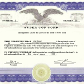 Evidencing Ownership in a Corporation – Nothing beats a Share Certificate
